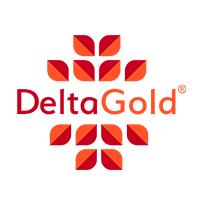 Delta Gold Logo in full color - Orange