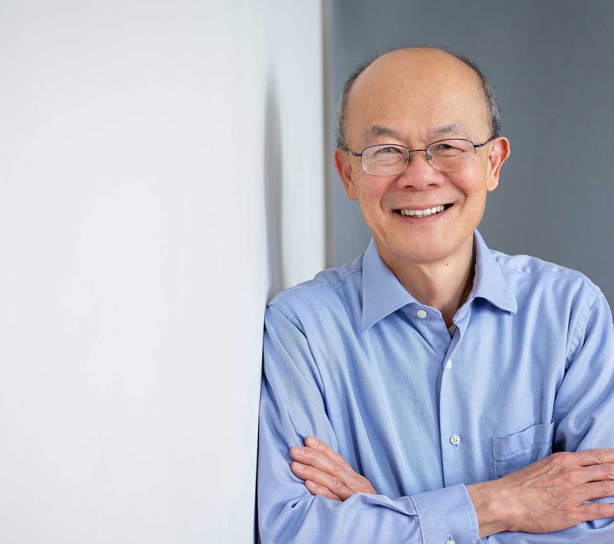 A photograph of a man named, Dr. Barrie Tan
